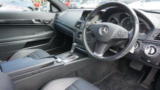 2010 Mercedes-Benz E-Class C207 E250 CGI Elegance Silver 5 Speed Sports Automatic Coupe
