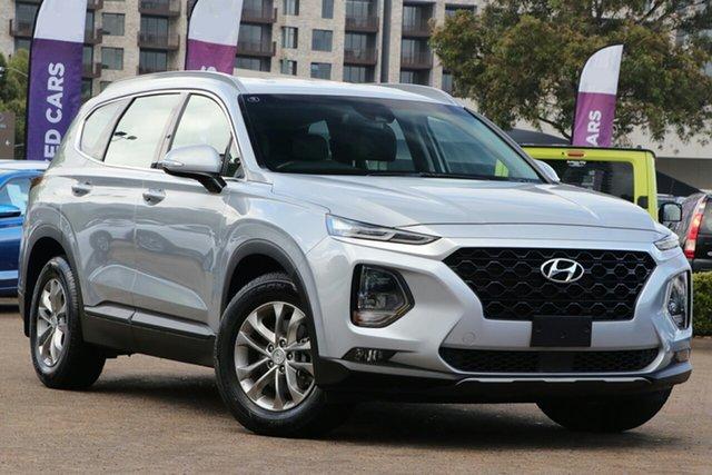 Used Hyundai Santa Fe TM Active CRDi (AWD), 2018 Hyundai Santa Fe TM Active CRDi (AWD) Silver 8 Speed Automatic Wagon