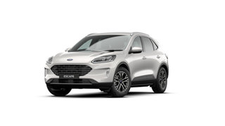 2020 Ford Escape ZH 2020.75MY White Platinum 8 Speed Sports Automatic SUV.