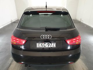2012 Audi A1 8X MY12 Attraction Sportback S Tronic Black 7 Speed Sports Automatic Dual Clutch