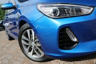 2018 Hyundai i30 PD2 Update Active Blue 6 Speed Auto Sequential Hatchback.