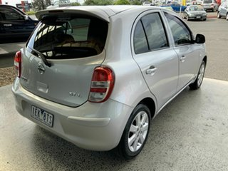 2013 Nissan Micra K13 MY13 ST-L Silver 5 Speed Manual Hatchback