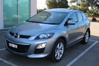 2011 Mazda CX-7 ER MY10 Luxury Sports (4x4) Silver 6 Speed Auto Activematic Wagon.