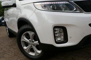 2012 Kia Sorento XM MY13 SI White 6 Speed Sports Automatic Wagon.