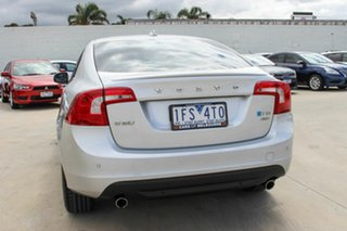2012 Volvo S60 F Series MY12 T6 Geartronic AWD Silver 6 Speed Sports Automatic Sedan