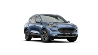 2020 Ford Escape Blue 8 Speed Sports Automatic SUV