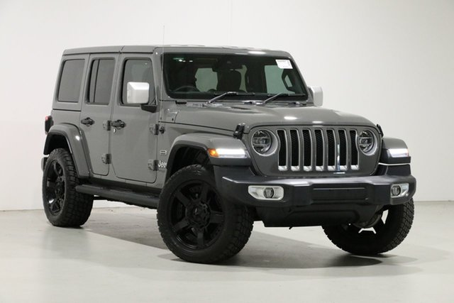 Used Jeep Wrangler Unlimited JL MY20 Overland (4x4), 2019 Jeep Wrangler Unlimited JL MY20 Overland (4x4) Grey 8 Speed Automatic Hardtop