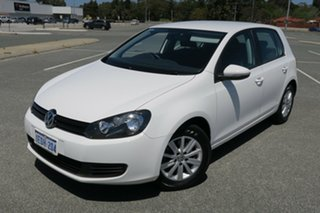 2013 Volkswagen Golf VII MY14 90TSI DSG White 7 Speed Sports Automatic Dual Clutch Hatchback