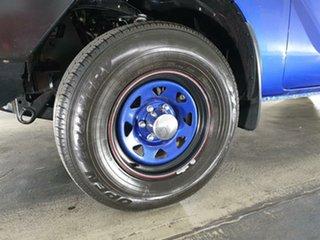 2013 Mazda BT-50 UP0YF1 XT 4x2 Hi-Rider Blue 6 Speed Manual Cab Chassis