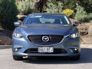 2015 Mazda 6 GJ1032 Touring SKYACTIV-Drive Blue 6 Speed Sports Automatic Sedan.