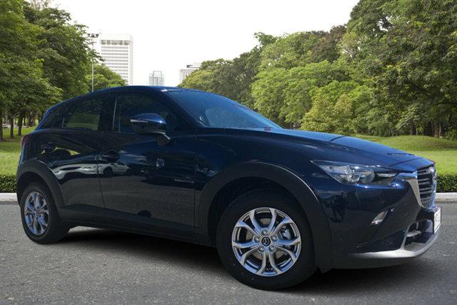 Used Mazda CX-3 DK2W7A Maxx SKYACTIV-Drive FWD Sport, 2020 Mazda CX-3 DK2W7A Maxx SKYACTIV-Drive FWD Sport Blue 6 Speed Sports Automatic Wagon