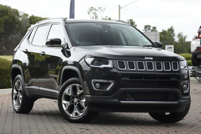 New Jeep Compass M6 MY20 Limited Nunawading, 2020 Jeep Compass M6 MY20 Limited Brilliant Black 9 Speed Automatic Wagon