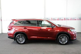 2018 Toyota Kluger GSU55R GXL AWD Merlot Red 8 Speed Sports Automatic Wagon