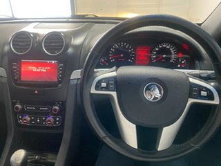 2011 Holden Commodore VE II SV6 Green 6 Speed Manual Utility