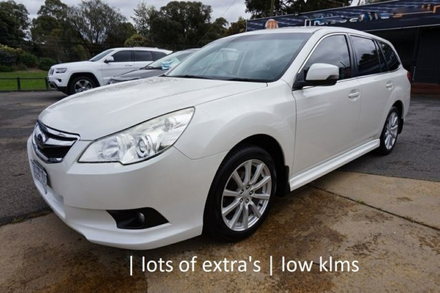 Used Subaru Liberty B5 MY12 2.5i Lineartronic AWD, 2012 Subaru Liberty B5 MY12 2.5i Lineartronic AWD Satin White Pearl 6 Speed Constant Variable Wagon