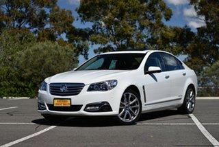 2017 Holden Calais VF II MY17 V White 6 Speed Sports Automatic Sedan.
