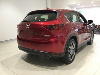 2019 Mazda CX-5 KF4WLA Akera SKYACTIV-Drive i-ACTIV AWD Soul Red 6 Speed Sports Automatic Wagon.