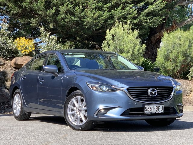 Used Mazda 6 GJ1032 Touring SKYACTIV-Drive Totness, 2015 Mazda 6 GJ1032 Touring SKYACTIV-Drive Blue 6 Speed Sports Automatic Sedan