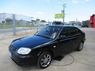 2005 Hyundai Accent LC GL Black 4 Speed Automatic Hatchback