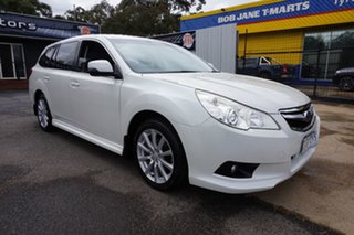 2012 Subaru Liberty B5 MY12 2.5i Lineartronic AWD Satin White Pearl 6 Speed Constant Variable Wagon
