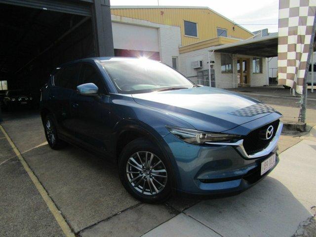 Used Mazda CX-5 KF4WLA Maxx SKYACTIV-Drive i-ACTIV AWD Sport Moorooka, 2017 Mazda CX-5 KF4WLA Maxx SKYACTIV-Drive i-ACTIV AWD Sport Blue 6 Speed Sports Automatic Wagon
