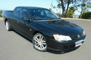2004 Holden Crewman VY II Black 4 Speed Automatic Utility.