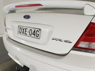 2004 Ford Falcon BA XR6 White 4 Speed Sports Automatic Sedan