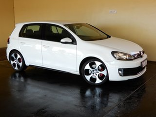 2012 Volkswagen Golf 1K MY12 GTi White 6 Speed Manual Hatchback.