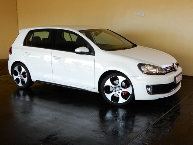 Used Volkswagen Golf 1K MY12 GTi, 2012 Volkswagen Golf 1K MY12 GTi White 6 Speed Manual Hatchback