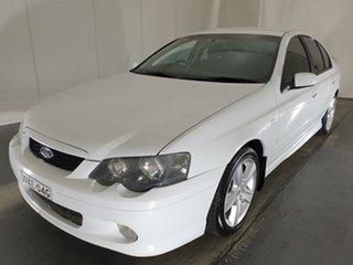 2004 Ford Falcon BA XR6 White 4 Speed Sports Automatic Sedan.
