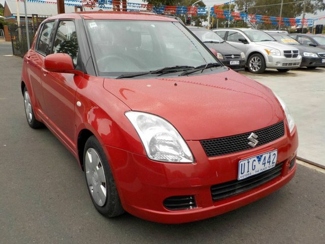 Used Suzuki Swift EZ Newtown, 2006 Suzuki Swift EZ Red 5 Speed Manual Hatchback