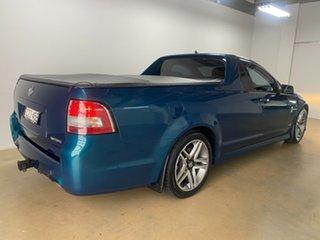 2011 Holden Commodore VE II SV6 Green 6 Speed Manual Utility.