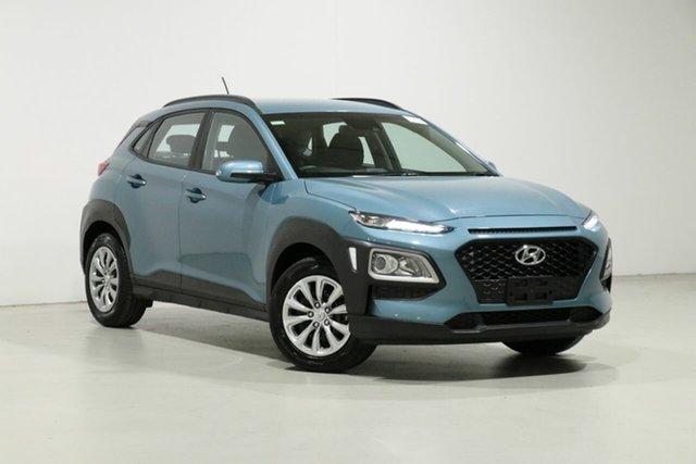 Used Hyundai Kona OS.3 MY20 GO (FWD), 2019 Hyundai Kona OS.3 MY20 GO (FWD) Blue 6 Speed Automatic Wagon