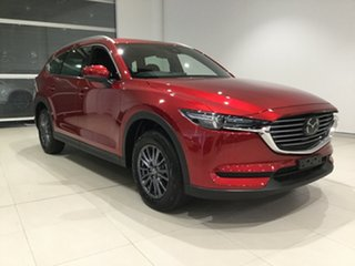 2019 Mazda CX-8 KG2W2A Sport SKYACTIV-Drive FWD Soul Red 6 Speed Sports Automatic Wagon.