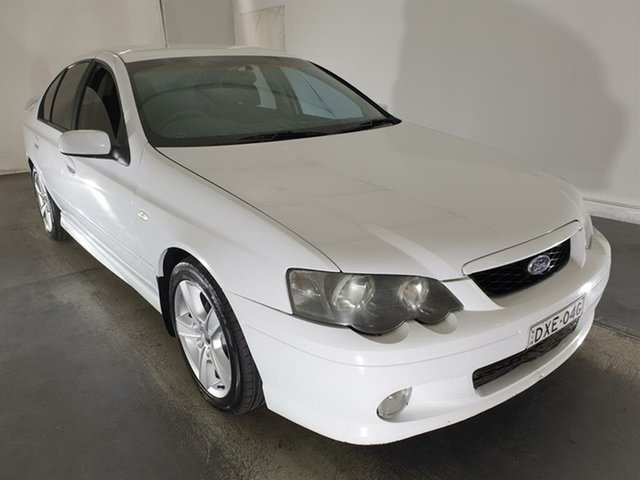 Used Ford Falcon BA XR6, 2004 Ford Falcon BA XR6 White 4 Speed Sports Automatic Sedan