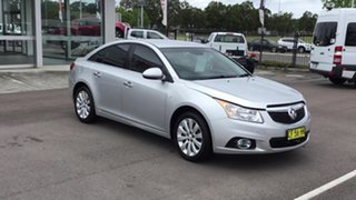 2014 Holden Cruze JH Series II MY14 CDX Silver 6 Speed Sports Automatic Sedan.