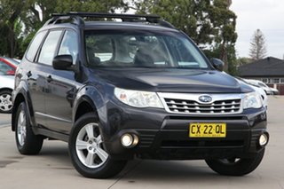 2012 Subaru Forester MY12 X Luxury Edition Grey 4 Speed Auto Elec Sportshift Wagon.