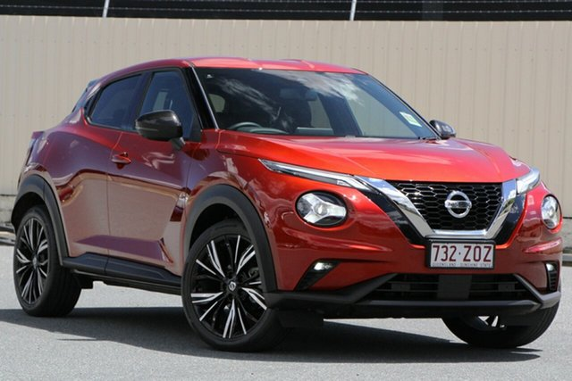 Demo Nissan Juke F16 Ti DCT 2WD Bundamba, 2020 Nissan Juke F16 Ti DCT 2WD Fuji Sunset Red 7 Speed Sports Automatic Dual Clutch Hatchback