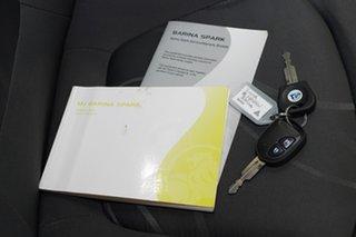 2010 Holden Barina Spark MJ MY11 CD Silver 5 Speed Manual Hatchback