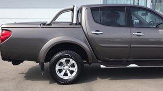 2013 Mitsubishi Triton MN MY13 GL-R Double Cab Brown 4 Speed Sports Automatic Utility.