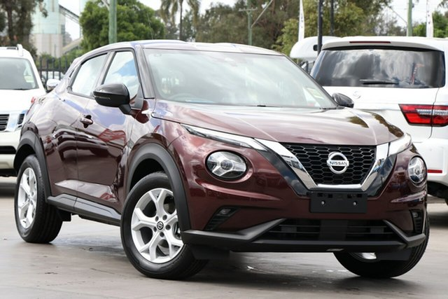 New Nissan Juke F16 ST+ DCT 2WD St Marys, 2020 Nissan Juke F16 ST+ DCT 2WD Burgundy 7 Speed Sports Automatic Dual Clutch Hatchback