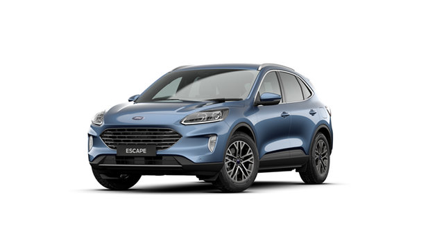 New Ford Escape ZH 2021.25MY St Marys, 2020 Ford Escape ZH 2021.25MY Blue Metallic 8 Speed Sports Automatic SUV