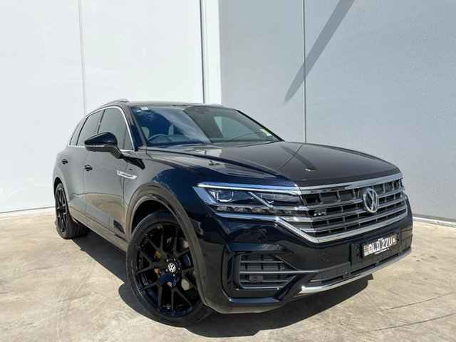 Demo Volkswagen Touareg CR MY20 190TDI Tiptronic 4MOTION Adventure Liverpool, 2020 Volkswagen Touareg CR MY20 190TDI Tiptronic 4MOTION Adventure Deep Black Pearl Effect 8 Speed