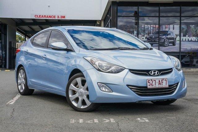 Used Hyundai Elantra MD Premium, 2012 Hyundai Elantra MD Premium Blue 6 Speed Sports Automatic Sedan