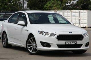 2015 Ford Falcon FG X XR6 White 6 Speed Auto Seq Sportshift Sedan.
