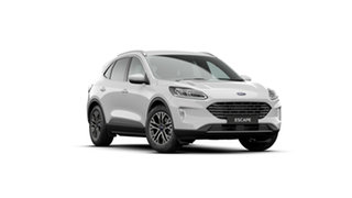 2020 Ford Escape ZH 2021.25MY Frozen White 8 Speed Sports Automatic SUV