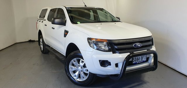 Used Ford Ranger PX XL, 2013 Ford Ranger PX XL White 6 Speed Sports Automatic Utility