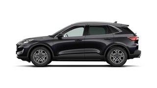2020 Ford Escape ZH 2021.25MY Agate Black 8 Speed Sports Automatic SUV.