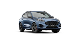 2020 Ford Escape ZH 2020.75MY ST-Line Blue Metallic 8 Speed Sports Automatic SUV