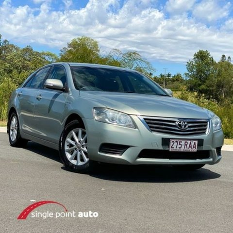 Used Toyota Aurion GSV40R MY10 AT-X, 2010 Toyota Aurion GSV40R MY10 AT-X Silver 6 Speed Sports Automatic Sedan